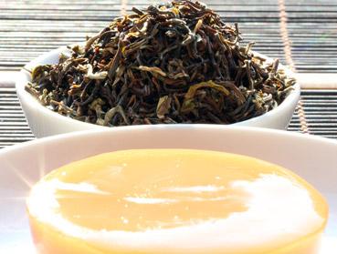 Golden Nepal TGFOP Tee und Kombucha. Welcher Tee ist der Richtige zur Herstellung von Kombucha? Diese Frage beantworten wir Ihnen hier - erfahren Sie welche Teesorte sich am besten für Ihren Kombuchapilz (Teepilz, Tibi) eignet, wie einfach die Herstellung ist sowie wie die Wirkung des Tee auf Kombucha ist. Egal ob Schwarzer Tee, Grüner Tee, Mate-Tee, Gelber Tee, Darjeeling, Weißer Tee oder Pu-Erh-Tee - wir liefern Ihnen alle Informationen, die Sie im Umgang der Teesorten und Kombucha brauchen.